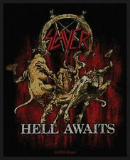 Slayer-chiaro awaits-Woven Patch/ricamate