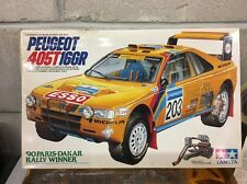 Model Kit 1/24 Tamiya Peugeot 405T 16GR  '90 Paris-Dakar Rally Winner Vintage