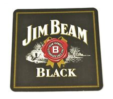 Jim Beam Black Bourbon Whiskey Bierdeckel Untersetzer Coaster USA