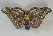 Jay Strongwater Enamel & Jeweled Butterfly Trinket Box Magnolia Collection