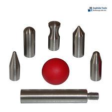 7 Wechselspitzen Set für Ausbeulwerkzeug Drücktechnik / M6 PDR Screw-On Tips