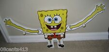 Spongebob Squarepants Coat / Jacket / Hat Hook Hanger With Moving Arms **READ**
