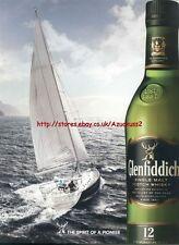 """Glenfiddich """"Spirit Of A Pioneer"""" 2011 Magazine Advert #1477"""