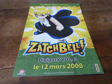 MANGA - Plan média / Press kit !!! ZATCHBELL - VOL 3 !!!