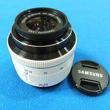 Samsung NX 20-50mm f/3.5-5.6 S2050BNW NX300 NX300M NX500 NX30 -Color:White- Bulk