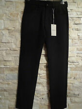EMPORIO ARMANI BLACK SLIM MENS WOOL/POLY JEANS ITALY SIZE 46/30