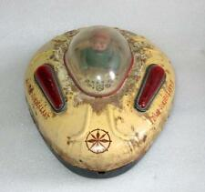Vintage Old Battery Operated Space Surveillant Llitho Spaceship Tin Toy Japan?