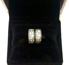 2 Authentic Pandora Clear Shining Elegance Clips W/Pandora TAG & BOX #791817CZ