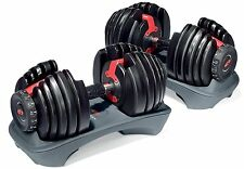 Bowflex SelectTech 552 Adjustable Dumbbells Weight Set Exercise Equipment NEW
