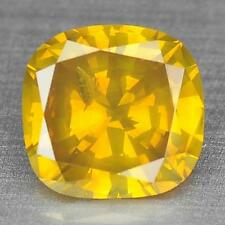 BEAUTIFUL 0.59Cts 100%Natural Golden yellow color African Loose Diamond For Ring