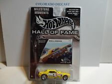 Hot Wheels Hall of Fame Yellow Snake vs Mongoose Dragster