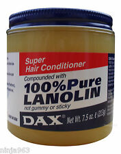 Dax 100% PURE LANOLIN Super Hair Conditioner (221.8ml)