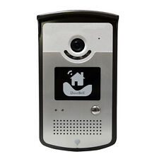 ASDIBUY Wireless Wifi Visual Doorbell Security Camera Intercom System Waterproof