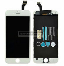 "White LCD Display Touch Screen Digitizer Lens assieme completo per iPhone 6 4,7 ""UK"