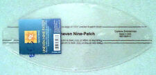 EZ SIMPLICITY UNEVEN NINE PATCH TEMPLATE QUILTING PATCHWORK CRAFTING BRAND NEW