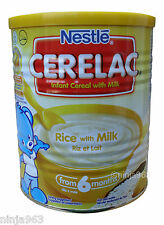Nestle Cerelac Rice with milk (400g) From 6 Months