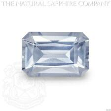 Natural Untreated Ice Blue Sapphire, 1.37ct. (U4260)