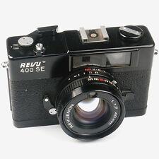 Revue 400 SE 35mm Meßsucherkamera -Schwarz- DEFEKT (N013806)