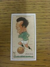 1927 MAC: No.08, Plymouth Argyle  - Jack Cock [Football Caricature Card Issued B