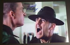 """R. LEE ERMEY Authentic Hand-Signed """"FULL METAL JACKET ahhh"""" 11x17 Photo (PROOF)"""