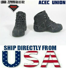 """1/6 LOWA ZEPHYR Tactical Military Combat Boots For 12"""" Male Figure - U.S. SELLER"""