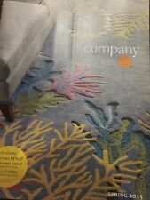 COMPANY C CATALOG SPRING 2015 DESIGNS FOR COLORFUL LIVING BRAND NEW