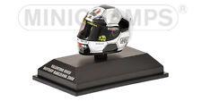 MINICHAMPS VALENTINO ROSSI HELMET 1/8 AGV GP BARCELONA 2008 YAMAHA  398080086