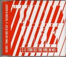 (CF929) Tom Vek, C-C (You Set The Fire In Me) - 2005 CD