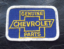 """CHEVROLET EMBROIDERED SEW ON ONLY PATCH GENUINE CHEVY PARTS CAR 3"""" x 2"""""""