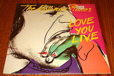 THE ROLLING STONES LOVE YOU LIVE ORIGINAL 2-LP SET STILL IN SHRINK WRAP  1977