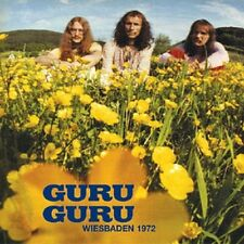 GURU GURU: Wiesbaden 1972; only three very long tracks, mediocre sound, great gu
