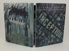 STEELBOOK Inception Lightly Used Blu-Ray Region All