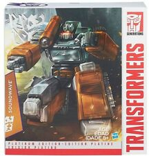 Hasbro Transformers 2015 Year Of Goat Platinum Edition Soundwave