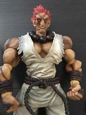 Super Street Fighter IV Play Arts Kai Vol. 2 Action Figure Gouki Akuma White Ver