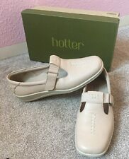 Hotter £59 Beige Lightweight Casual Shoes 7 Uk WORN1X UNWANTED CHRISTMAS PRESENT