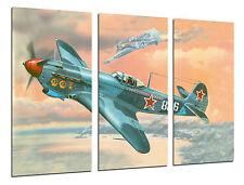 Cuadro Moderno Aviación, Dibujos Aviones Antiguos, Aviones de Guerra, ref. 26454