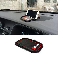 Car Interior Anti-Slip Silicone Pad S Line Phone Holder Mounts GPS Mat For Audi