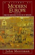 A History of Modern Europe, Merriman, John, Good Book