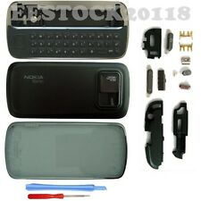 Black Fascia Full Housing Case Cover Shell Faceplate Keypad for Nokia N97 +Tools