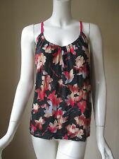 Urban Outfitters ECOTE Maple Leaf Prints Distressed Look Loose Tank Top M