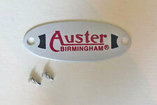 Auster Badge with Mountings for MGA, MGT (MG T Series; MGTA, MGTB, MGTC, MGTD)
