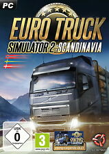 Euro truck simulator 2 scandinavia (extension) pc NEUF Emballage d'origine