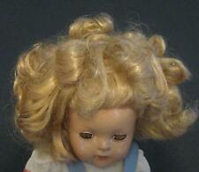"1930'S - 1940'S  15"" UNMARKED IDEAL SHIRLEY TEMPLE COMPOSITION DOLL"