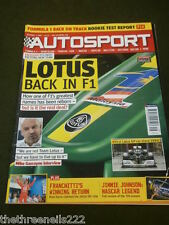 AUTOSPORT - JIMMIE JOHNSON NASCAR LEGEND - DEC 3 2009
