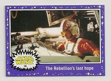 STAR WARS JOURNEY TO THE FORCE AWAKENS PURPLE STARFIELD #38 REBELLIONS LAST HOPE