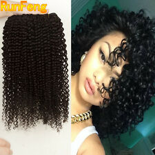 3 Bundles 150g Brazilian Kinky Curly 100% Human Hair Extensions Virgin Hair Weft