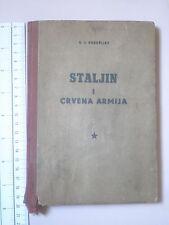 1948 STALIN book award,Yugoslavia army RUSSIA WWII SOVIET RED ARMY,Voroshilov