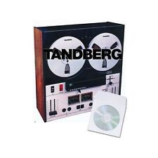 TANDBERG REEL TO REEL TAPE RECORDER USER SERVICE MANUALS on CD