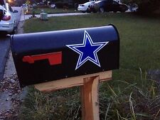 Dallas Cowboys Mailbox Decal (2 Pack) + Bonus Sticker