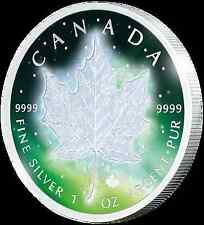 Preventa! 1 $2016 canadá-Frozen Maple Leaf-Aurora rodio